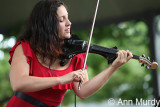 Teresa on electric violin