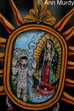 Guadalupe & Juan Diego by Arthur Lopez