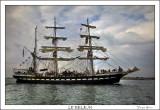 Le Belem au large de Lorient