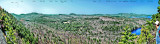 Annotated Panorama View From Ledges - courtesy of dcr
