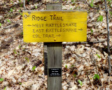 Ridge Trail Sign