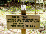 Ridge Trail Information Sign