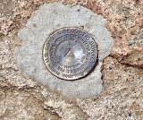 US. Coast & Geodetic Survey Marker on West Rattlesnake