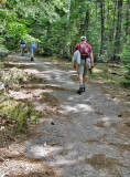Granite Ledge Trail on Dickey