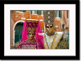 Two Masks Couple