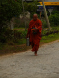 Monk on his route.jpg
