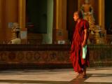 Monk on his visit to Shwedagon.jpg