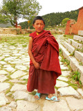 Boy monk in Reting