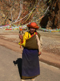 Lady at Namtso