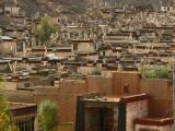 Tibetan town of Gyantse