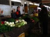 Covered market in Gyantse