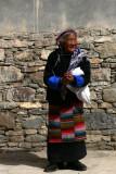 Woman on kora