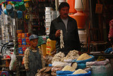 Market stall in Lhasa