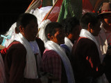 Pilgrims at Barkhor Square