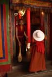 Monk and pilgrim
