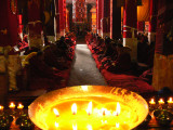 Golden Candle in Drepung
