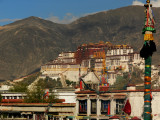 View of Potala from the Jokhang