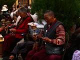 Pilgrims at Tsome Ling Monastery