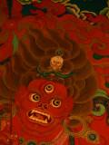 Red deity