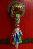 Doorknob with prayer flags
