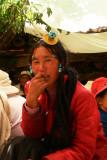 Turquoise lady