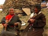 Two women in Litang