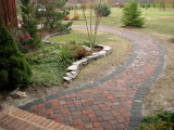 Paver Project 2007: Driveway Apron and Sidewalks