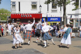 Scottish dancing in Market Place