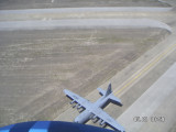 USAF C-130 doing practice-Waiting on us