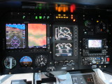 Eurocopter EC-130 panel with Garmin G500H