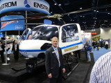 Jerry Mullen, Pres.  Enstrom Helicopters-Enstrom 480 Turbine