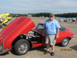 Jim Walters and his 1967 XKE