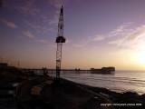 Sunset in Blackpool Feb 2010