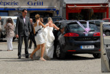 day of the wedding in Brittany