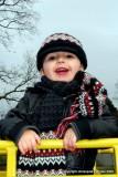 euan at the park