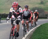 cycle racing in north Wales