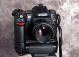 Nikon D80 with vertical grip