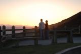 Sunset  Moel Famau North Wales
