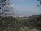 City View from Mount Vodno.