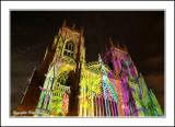 Colourful York Minster.