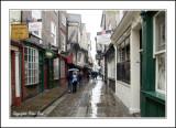 Wet Start Sunday Morning in York.