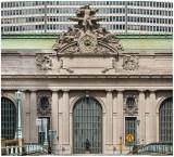 Jules Coutan  At Grand Central :Hercules, Mercury, Minerva
