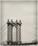 Manhattan Bridge and the Empire State Building