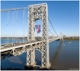 George Washington Bridge  Veterans Day 2