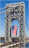 George Washington Bridge  Veterans Day 3