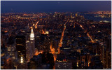 Manhattan at Night from the ESB