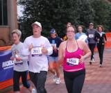 Heather Runs ING Marathon 03-30-08