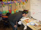 My Bday in the office