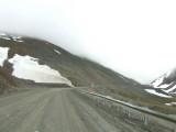 Climbing Atigun Pass in the Brooks Range