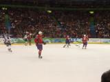 Hockey Action at Canada Hockey Place